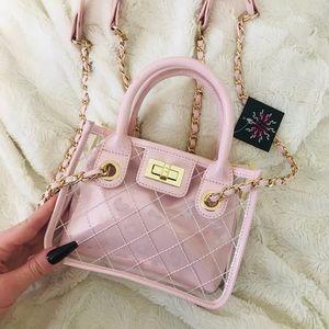 Mini Baby Pink Designer Inspired Bag 💗✨
